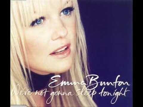 Emma bunton were not gonna sleep tonight karaoke