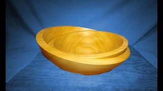 Two Cherry Bowls in One A Bowl in a Bowl Wood Turning