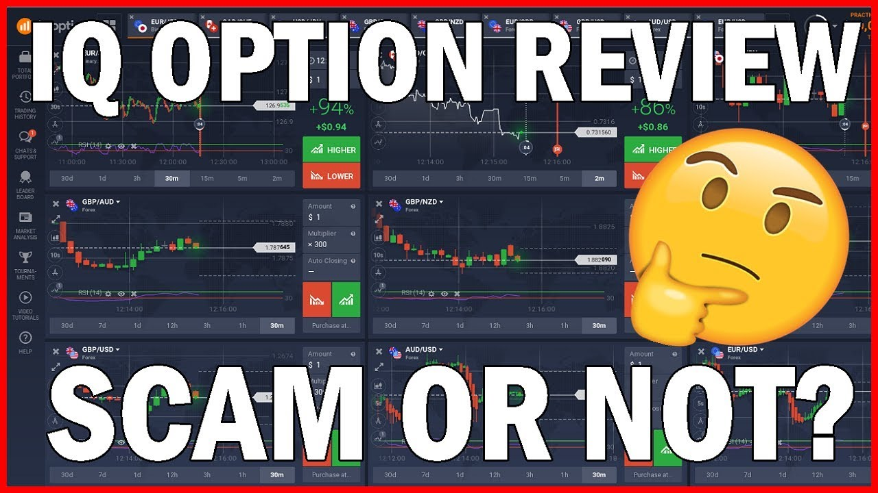 √ IQ Option Review 2019 ++ Scam or not? - [ Honest Test ]