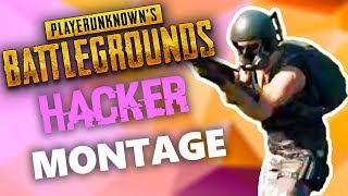 PUBG HACKER MONTAGE - AIM, ESP - PlayerUnknown's Battlegrounds