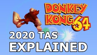 The New Donkey Kong 64 any% TAS Explained