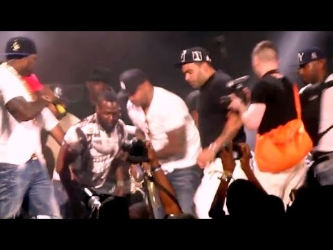 P. Diddy/Tupac's Outlaw fight at MTV Anniversary Show - Steve Lobel