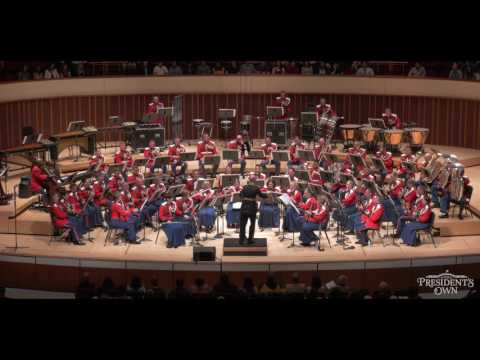 """GOMES Overture to Il Guarany - """"The President's Own"""" U.S. Marine Band - Tour 2016"""