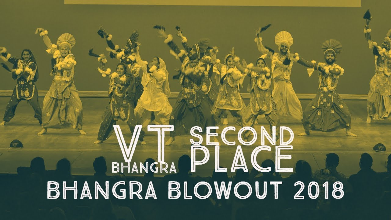 VT Bhangra - Second Place @ Bhangra Blowout 2018
