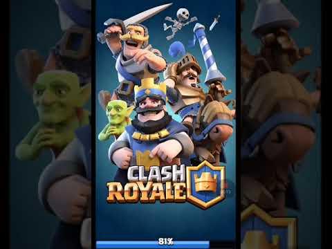 Играем в clash royale 1 часть