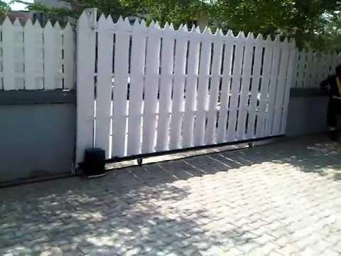 Automatic Sliding Gate Design