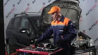 Údržba Opel Zafira f75 - návod na obsluhu