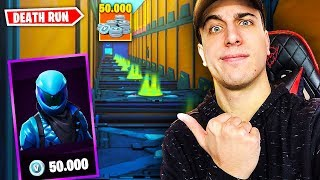 If I win A 50,000 VBUCK SKIN! Deathrun SUPER FACILE! Fortnite ITA!