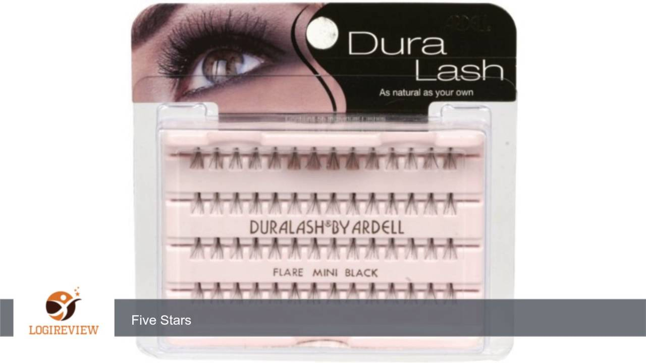 Ardell Duralash Flare False Eyelashes Mini Black Pack Of 4 By