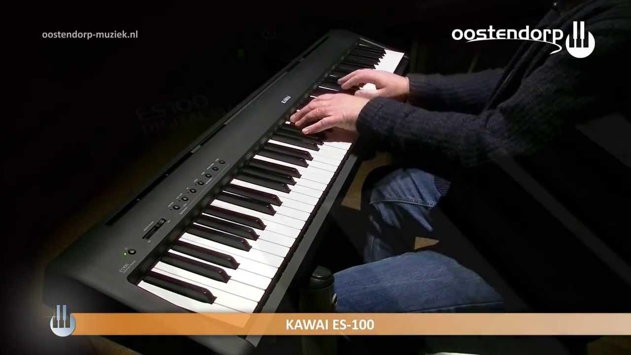 kawai es 100 sound demo digital piano youtube. Black Bedroom Furniture Sets. Home Design Ideas