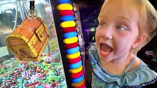 MYSTERY CLAW MACHINE!! Adley WINS the Ultimate Surprise from Arcade Game!