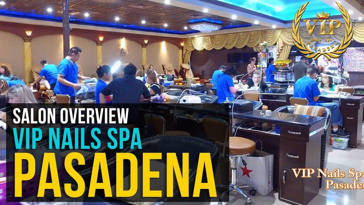 VIP Nails - Pasadena, TX - Salon Overview - YouTube