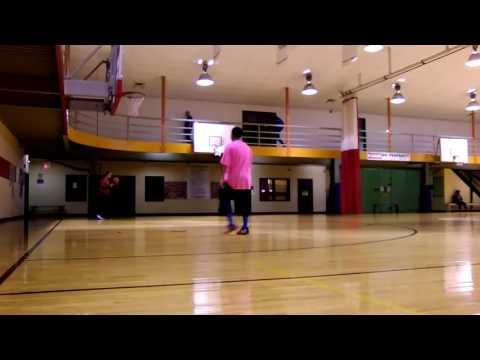 Basketball daily cardio 1 on 1 at the YMCA