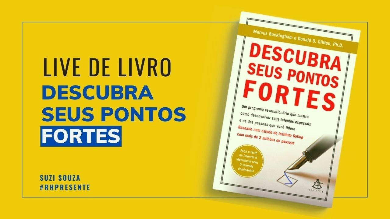 Live De Livro Descubra Seus Pontos Fortes Youtube
