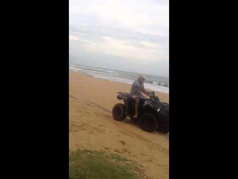Liberia beach life