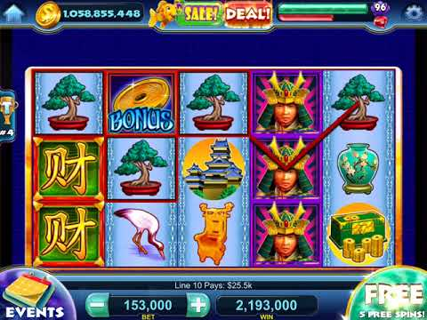 "SAMURAI MASTER Video Slot Casino Game with a ""HUGE WIN"" FREE SPIN BONUS"