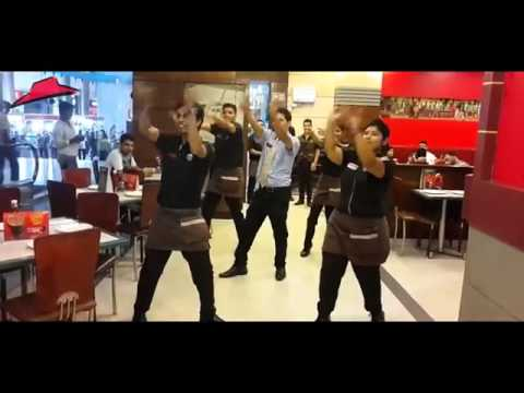Pizza hut edm dance