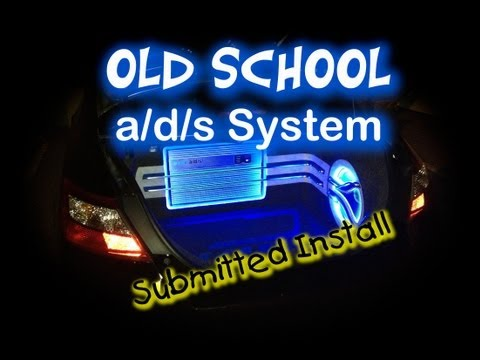 Old School a/d/s System 2009 Honda Civic EX Coupe Submitted Install