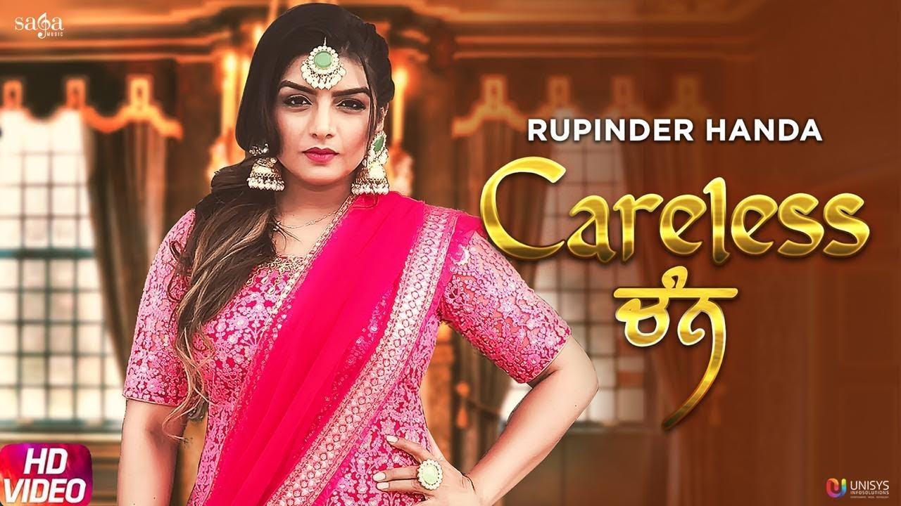 Careless Chann - Rupinder Handa | Official Song | Arpan Bawa | Latest Punjabi Song 2019 | Saga Music