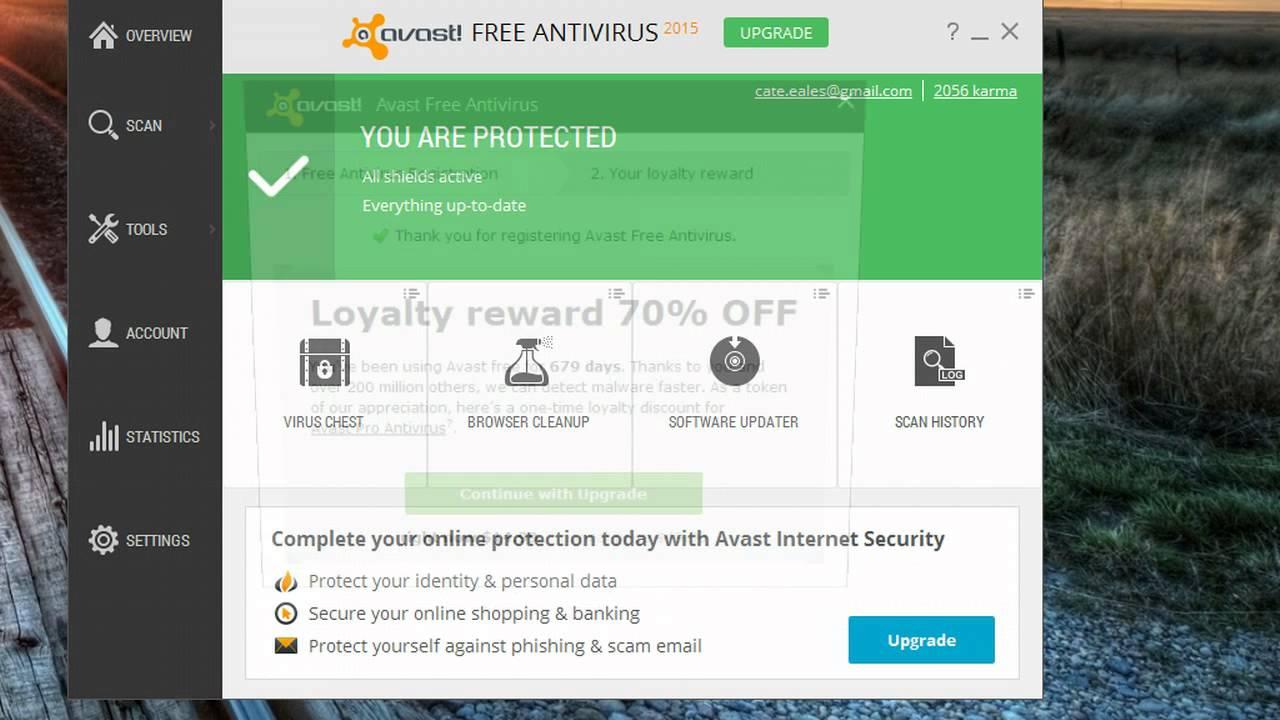 free avast vs paid avast