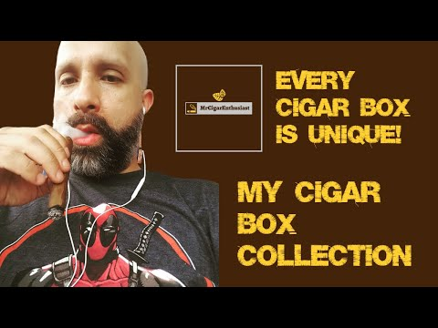 MrCigarEnthusiast's Cigar Box Collection