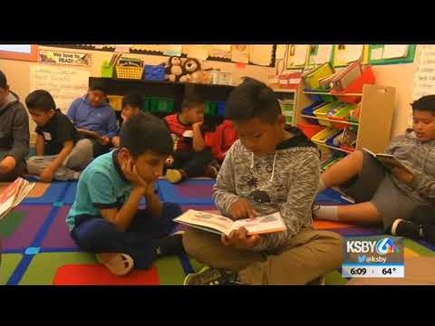 Santa Maria school kids perform service projects to celebrate Cesar Chavez Day