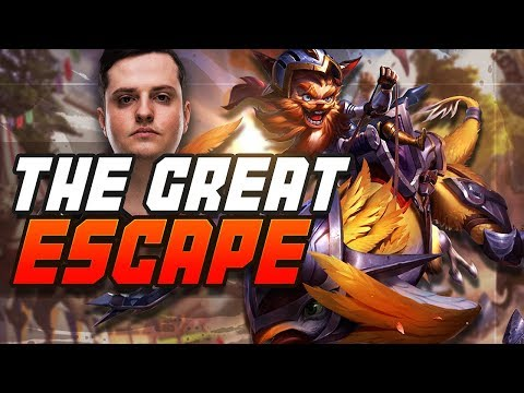 THE GREAT ESCAPE - Fnatic sOAZ (League of Legends) thumbnail