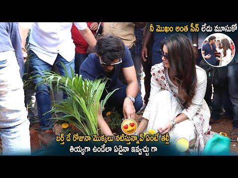 Bellamkonda Sai Srinivas Birthday Celebrations With Heroine Nabha Natesh |  Cinema Culture