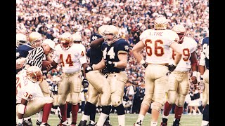 The Vault: ND on NBC - Notre Dame Football vs. Florida State  (1993 Full Game)