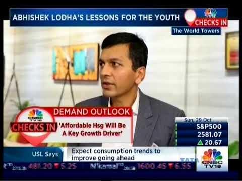 CNBC-TV18 Checks In on Lodha