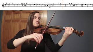Allegro Violin Duet Play-a-Long