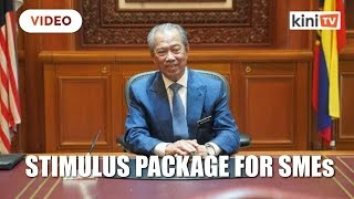 Muhyiddin unveils RM10 billion stimulus package for SMEs