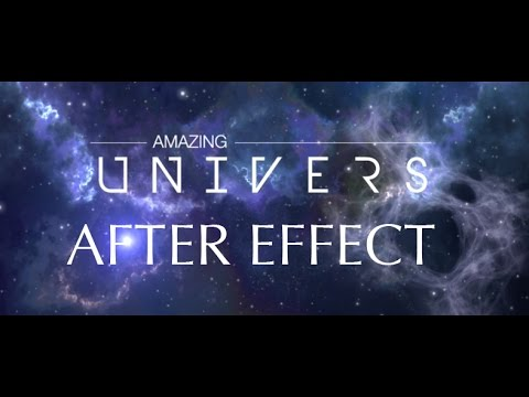 AFTER EFFECT : COMMENT RÉALISER UNE NÉBULEUSE (Trapcode+Optical Flare)