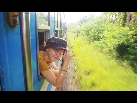 Trains and travel in Sri Lanka