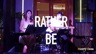 Merry Bees - Sheena Hong & John Lye performs Rather Be (Clean Bandit)