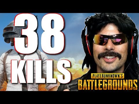 """Doc's """"38 Klll-Game"""" on PUBG with Grimmmz and Anthony!"""