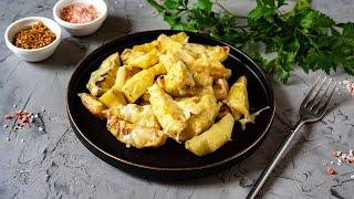 Запеченный картофель с сыром в духовке видео рецепт