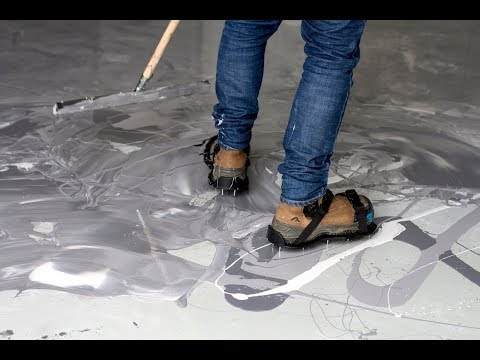 How to: Marble Effect Epoxy Floor Coating Video