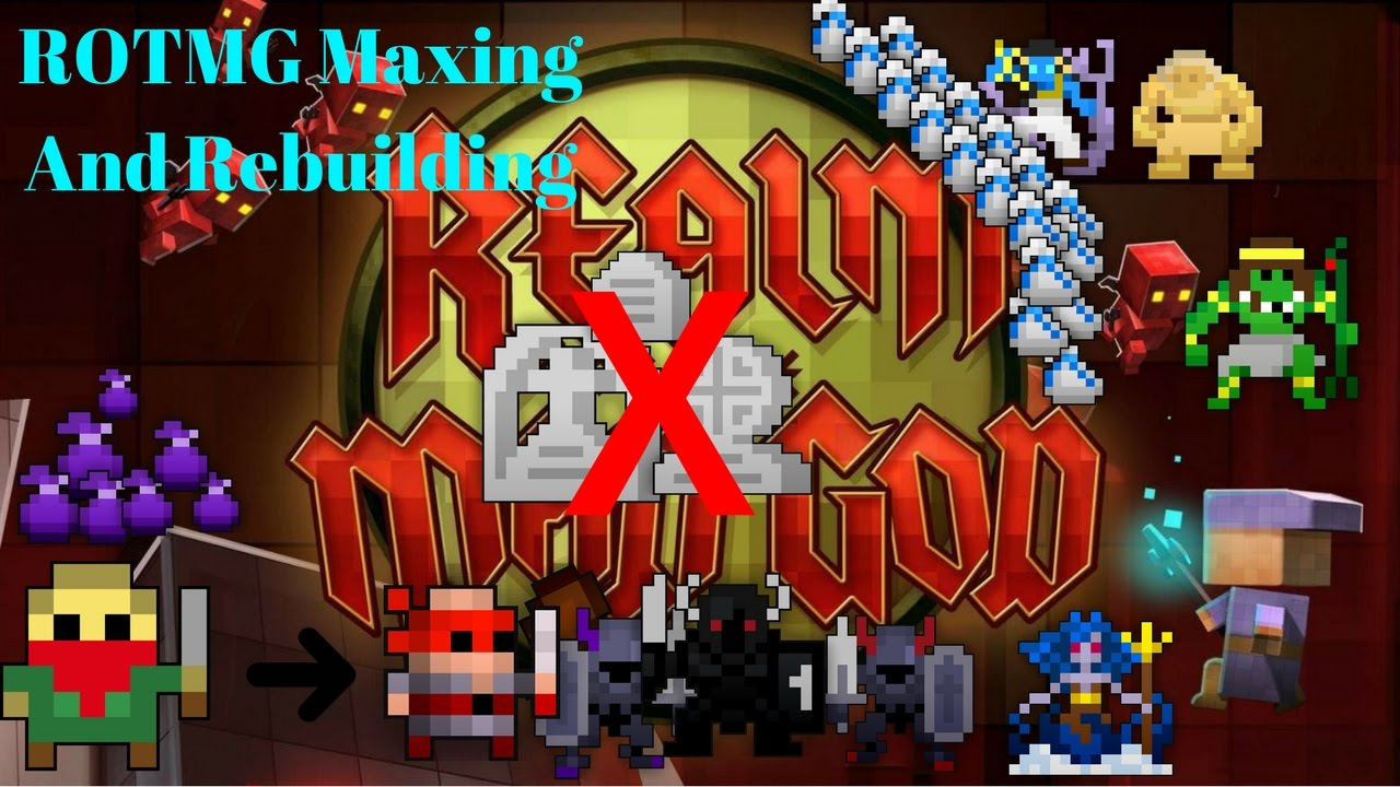 rotmg how to get gud
