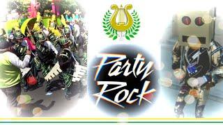 COCODRILOS MARCHING BAND (COMB 2019) 🎶🎺 PARTY ROCK [LMFAO ft. Lauren Bennett, GoonRock]