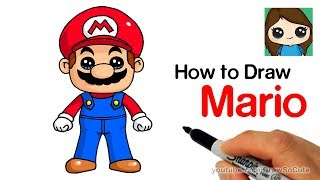 How to Draw Super Mario Easy