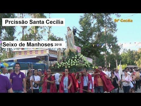 Procissao Santa Cecília 2018