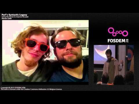 FOSDEM 2015 - Developer Room - Perl - Erl Syntactic Legacy