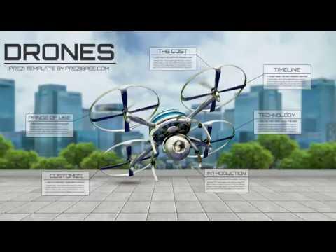 Drones - Prezi template - YouTube