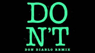 Ed Sheeran Don T Don Diablo Remix HD