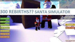 EPIC 300+ REBIRTHS | Santa Simulator ROBLOX