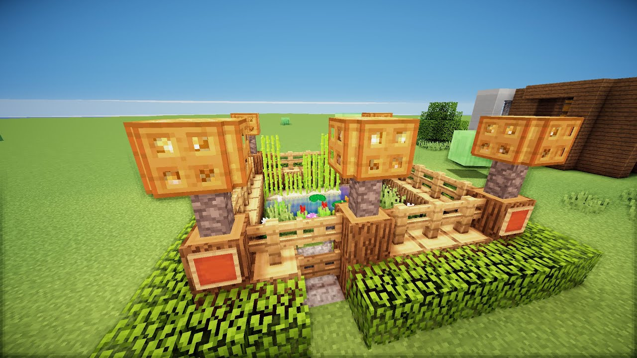 minecraft small garden hd youtube