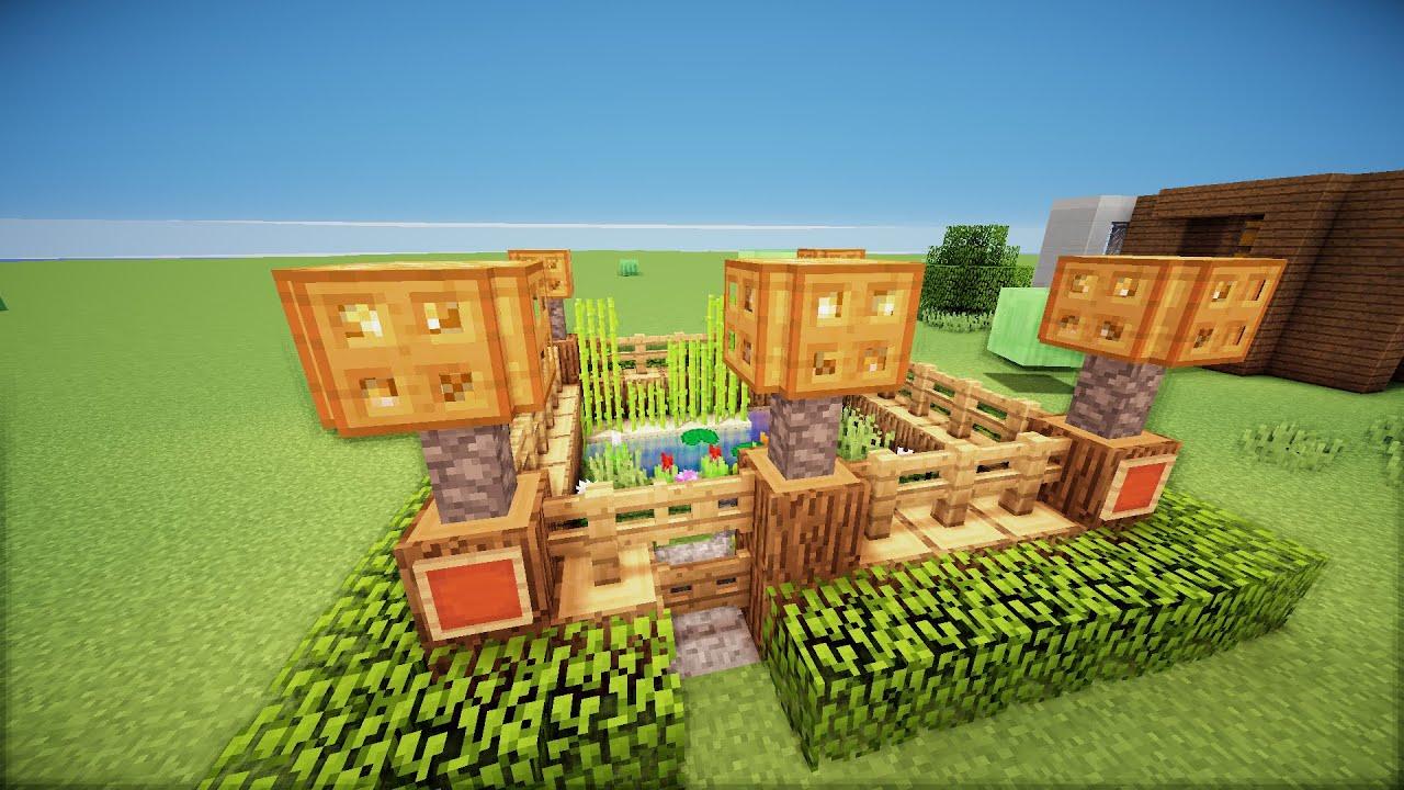 minecraft small garden hd youtube - Minecraft Garden