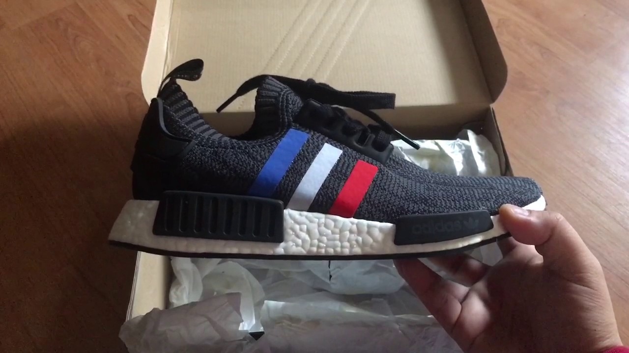 6a4678c2e2569a Adidas NMD TRICOLOR BLACK NEW PICK UP FROM MEMBER OF FACEBOOK GROUP ...