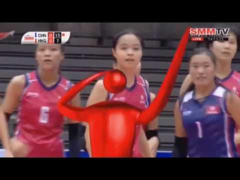 Hong Kong vs China   2016 Asian Women